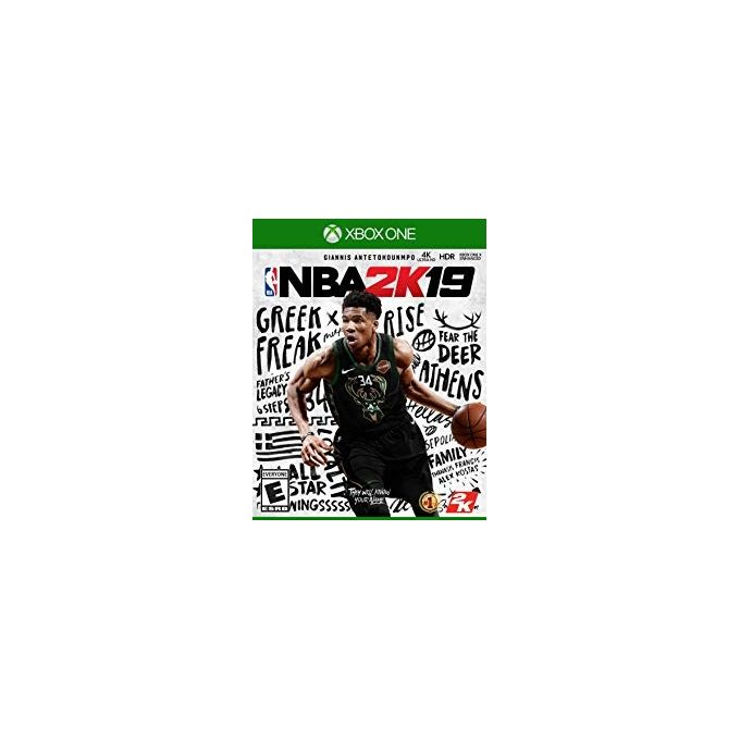2K Games Xbox One NBA 2K19