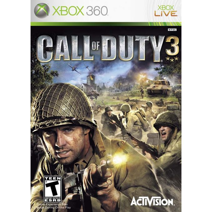 Activision CALL OF DUTY 3 XBOX 360 | Horezone
