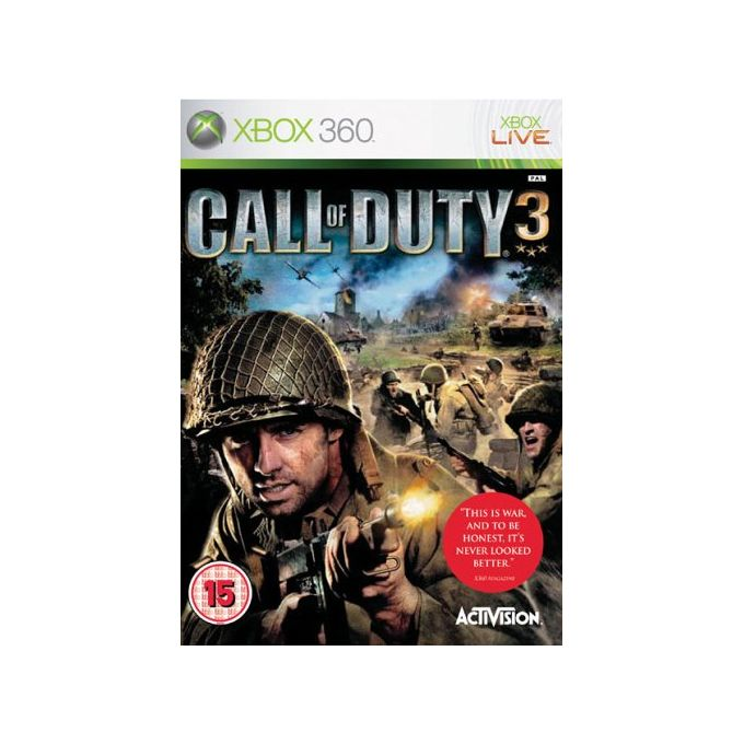 Activision CALL OF DUTY 3 XBOX 360