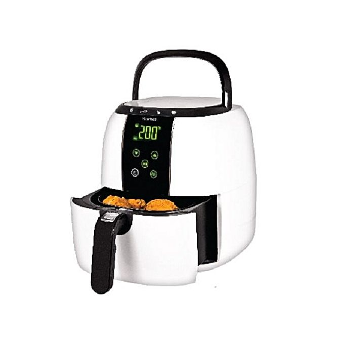 AMBIANO 3L Professional Air Fryer + Digital Display - White