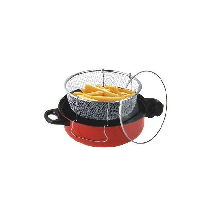 Deep Fryer With Steamer
