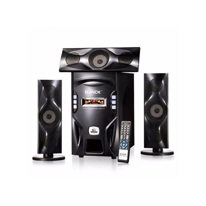 Djack 3, 1 Home Theatre with Bluetooth, FM Radio, USB Port