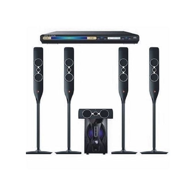 Djack Powerful Bluetooth Home Theater DJ-5055 + Powerful DVD Player- Black