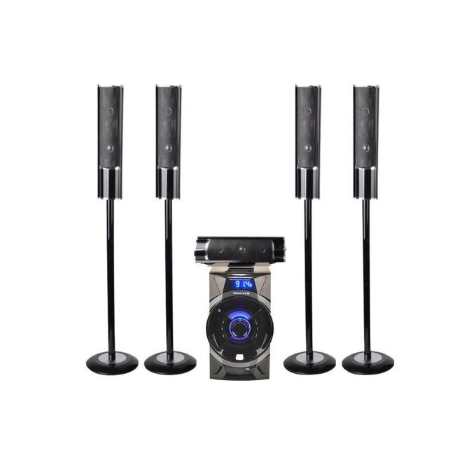 Dolven 5.1CH home theater set with bluetooth- BLACK