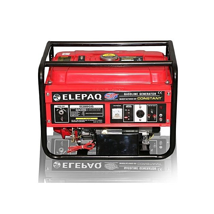 Elepaq 3.5KVA Key Start Generator Constant 100% Copper