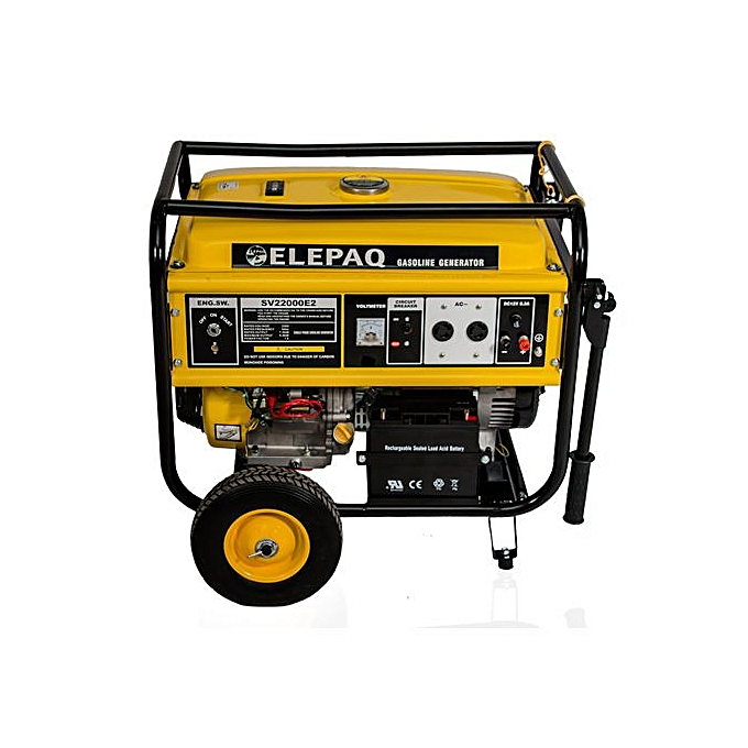 Elepaq 3.5KVA Key Start Generator SV5200E2 100% Copper