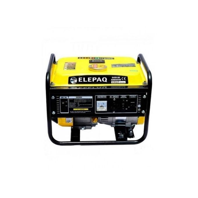 Elepaq SV2200 1.3KVA Manual Start Generator