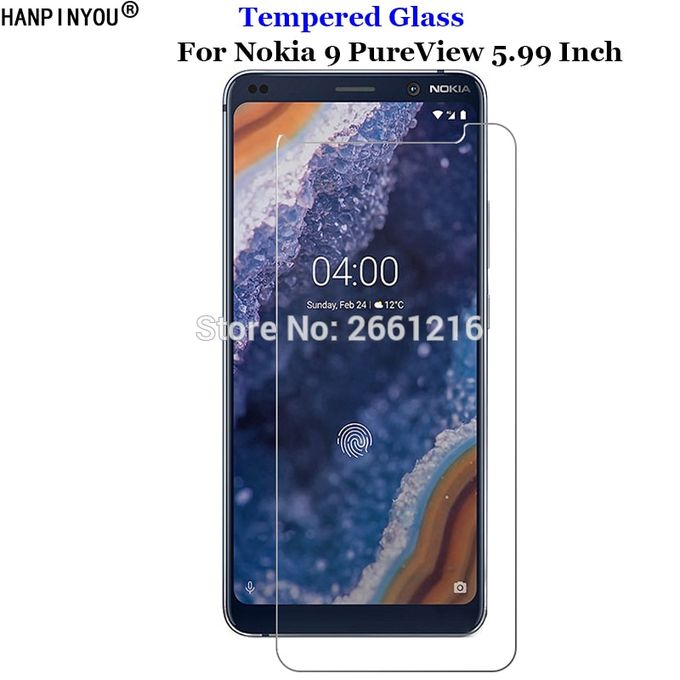 For Nokia 9 Pure View Tempered Glass Premium Screen Film 9