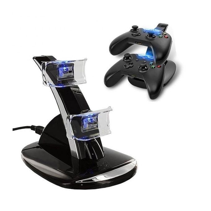 Funtech XBOX ONE Led Double USB Controller Charging Dock Xbox One | Horezone