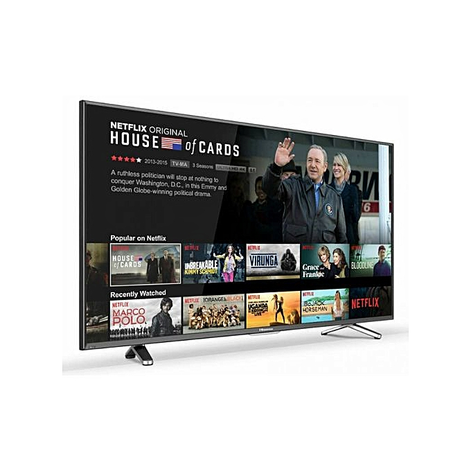 "Hisense 40"" SMART & SATELLITE FULL HD TV + Free Wall Bracket-40N2182PW-New 2019 Model 