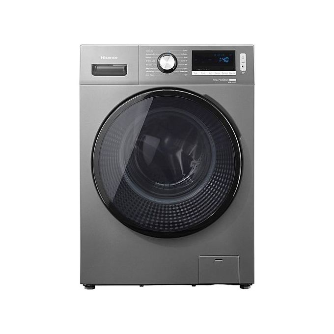 Hisense AUTOMATIC FRONT LOADER WASH AND DRY MACHINE WITH SMART INVERTER - WASH-10KG/7KG-D