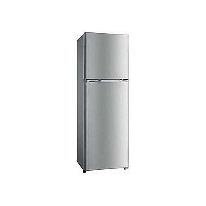Hisense double door fridge 215L