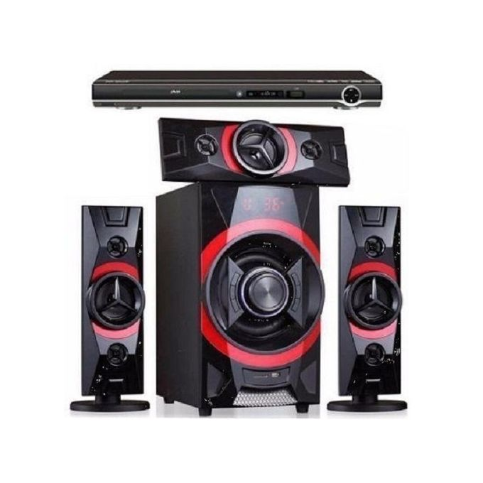 Home Theatre With Bluetooth with added DVD Player
