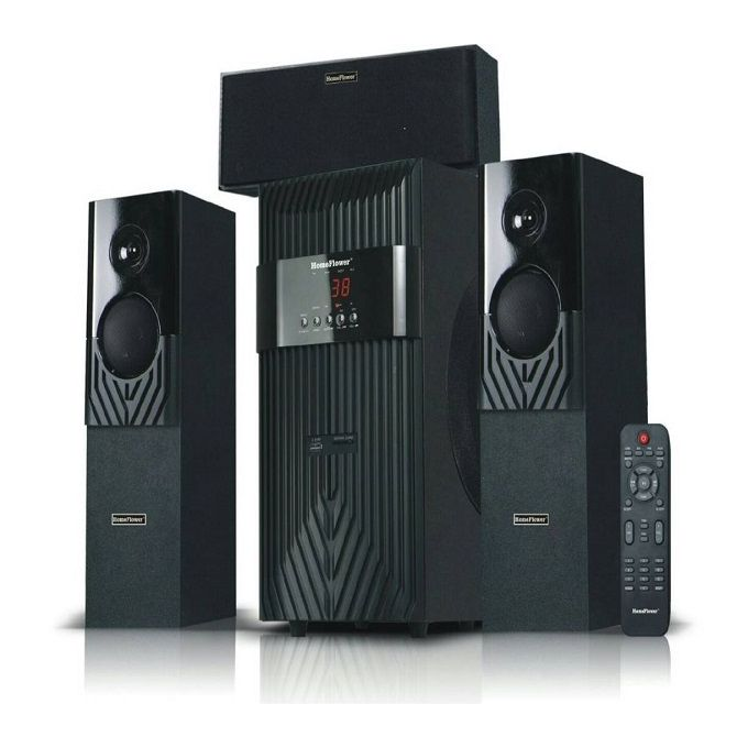 Homeflower Super Strong Serene Bass Bluetooth Home Theatre System 3.1CH