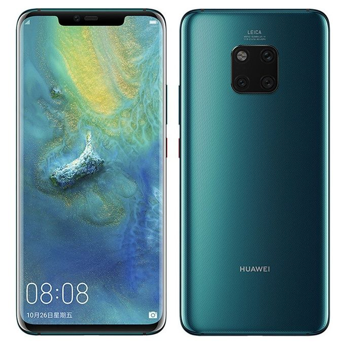 "Huawei Mate 20 Pro 6.39"" (6GB /128GB) Android 9.0 (40MP+20MP+8MP) + 24MP, Dual SIM 4G LTE Smartphone Black"