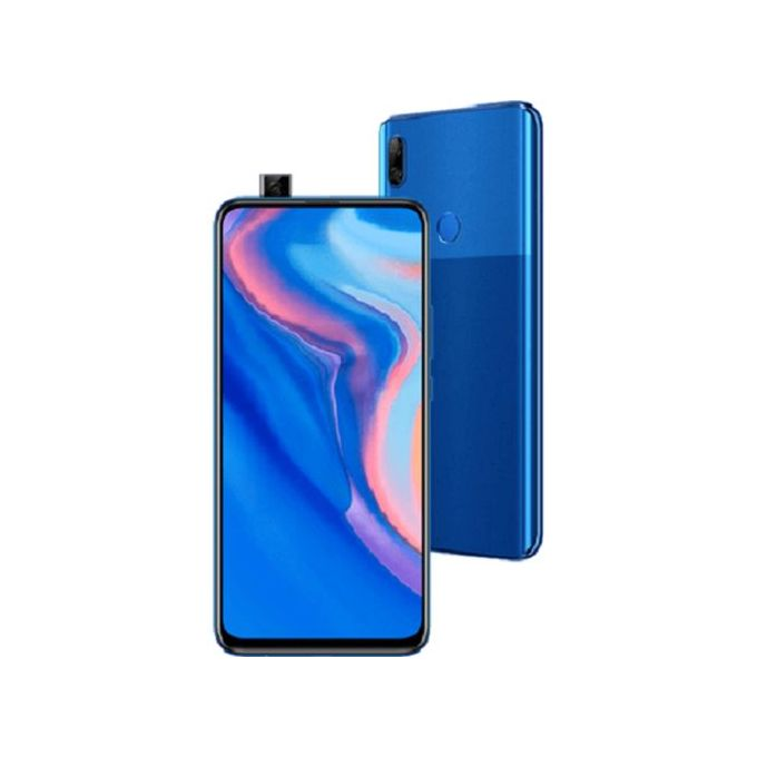 Huawei Y9 Prime 2019 6.59-Inch (4GB, 128GB ROM) Android 9, 16MP Pop-up Selfie Camera, 4000 MAh 4G Smartphone - Sapphire Blue