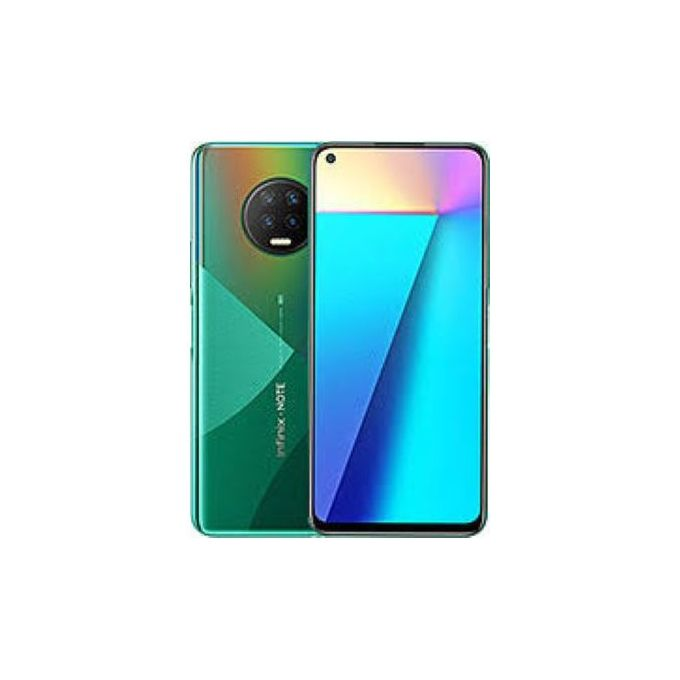 Infinix Note 7 (X690), 6.95'' 64GB 4GB RAM, 48MP + 2MP + 2MP + 2MP, Android 10, 5000 MAh, Dual SIM 4G LTE - Forest Green | Horezone