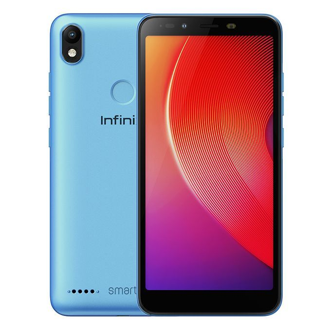 Infinix Smart 2 (X5515) 5.5-Inch HD+ (1GB,16GB ROM) Android 8.1 Oreo, 13MP + 8MP Dual SIM Face Recognition 4G Smartphone