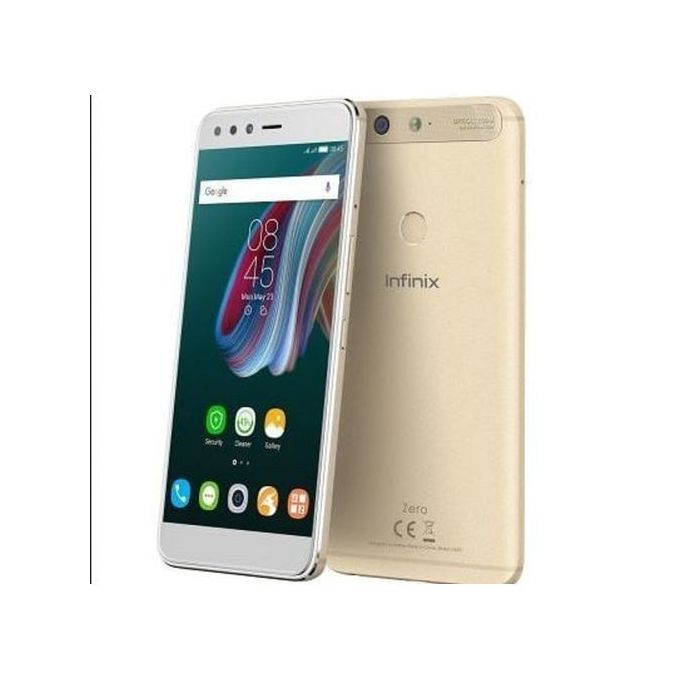 Infinix ZERO 5 (X603) 5.98 Inch FHD (6GB RAM + 64GB ROM) Android 7.0 Nougat, Smartphone - Champagne GOLD