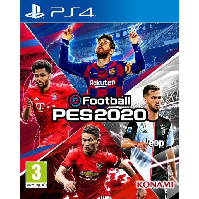 Konami PS4 Pro Evolution Soccer - PES 2020 | Horezone