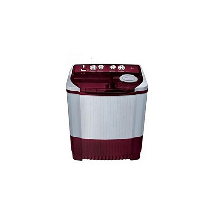 LG 6.2KG Top Loader Washing Machine WM 850 - Red | Horezone
