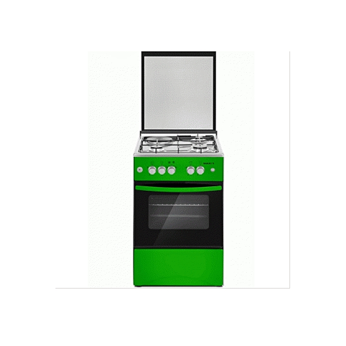 Maxi Standing Gas Cooker Maxi 505031 INOX 3 Gas 1 Electric