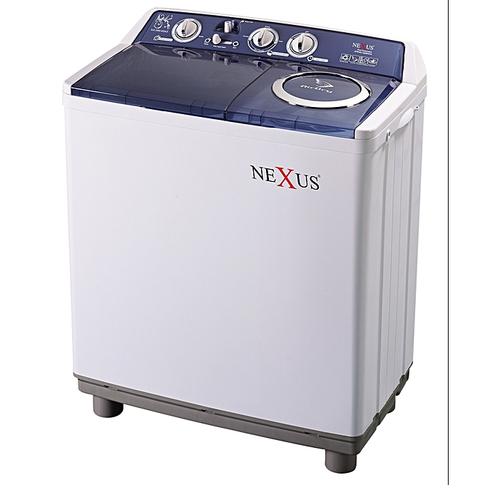 Nexus 9KG WASHING MACHINE SEMI AUTOMATIC TWIN TUB