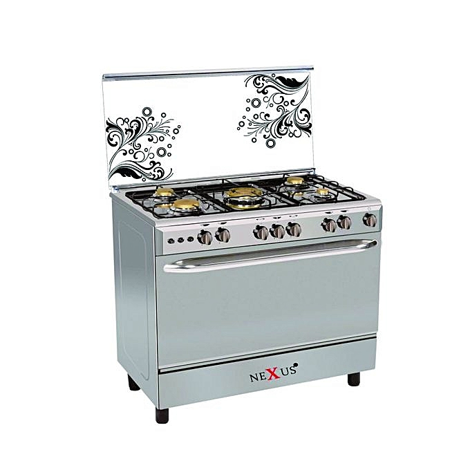 Nexus GC-NX-8000S (4+2) STANDING GAS COOKER