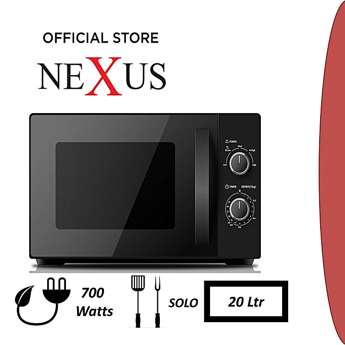 nexus microwave 20litre model NX-9201
