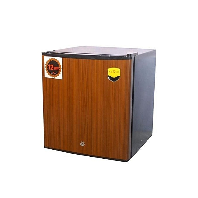 Nexus NX-65 (65 Litres) Fridge With Bar - Brown