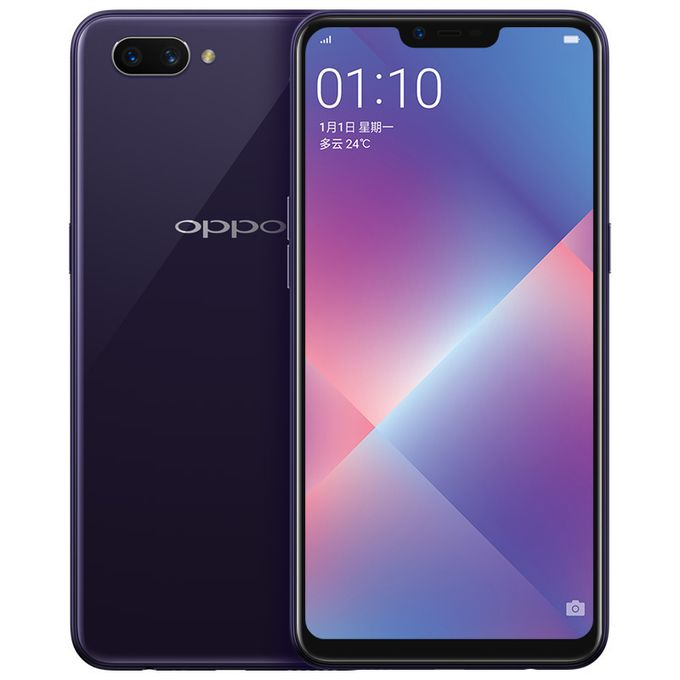 Oppo A5 6.2 Inch Full Screen 3+32GB 4230mAh Android SmartPhone Purple