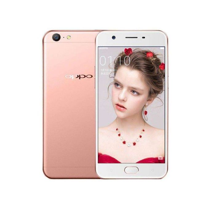 Oppo OPPO A57 5.2 Inch 3GB 32GB (Expandable Up To 256GB) Android 6.0 Qualcomm Octa- Pink
