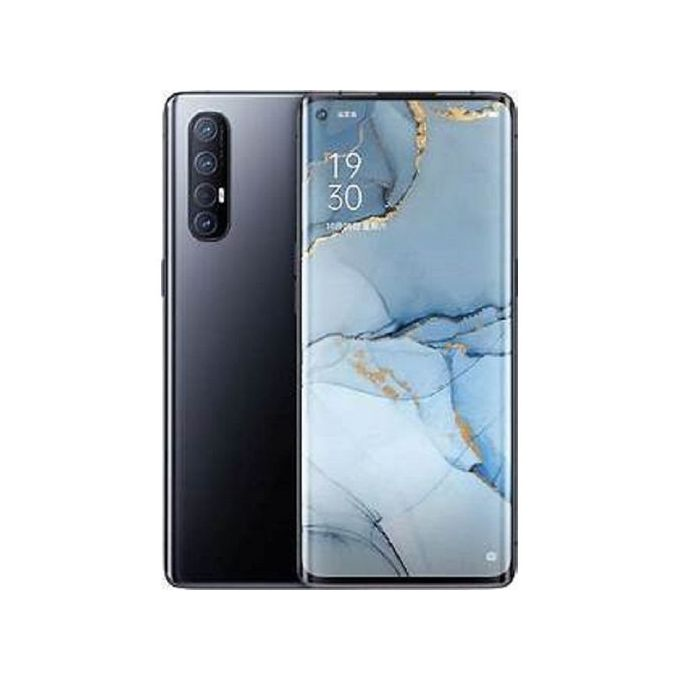 Oppo Reno3, 6.4-Inch 8GB RAM 128GB ROM Android 10 (48MP + 13MP + 8MP + 2MP) + 44MP Dual SIM - Midnight Black
