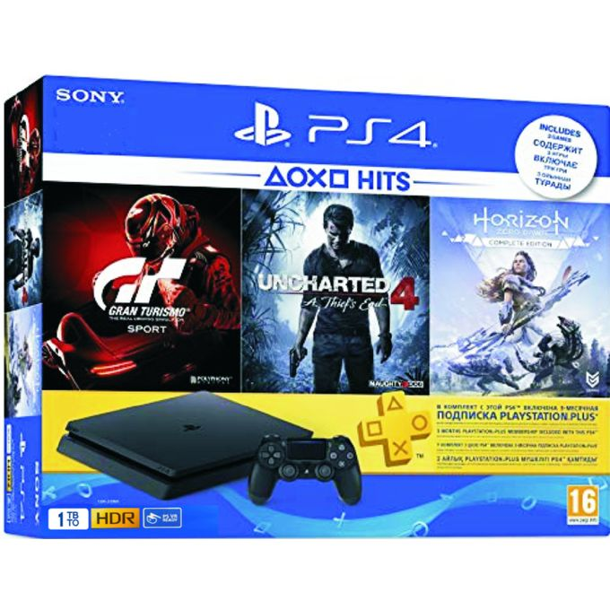 Playstation PS4 1TB SLIM + HITS BUNDLE