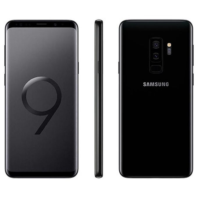 Samsung Galaxy S9 Plus S9 Plus (6GB RAM, 64GB ROM) Android 8.0 Oreo, 12MP + 8MP Single Sim- 4G- Midnight Black