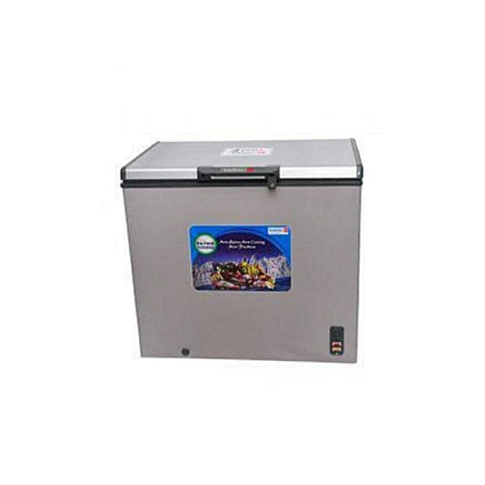 scanfrost chest freezer 151L with high regulatory compressor