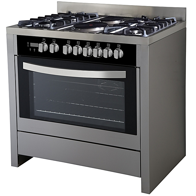 Scanfrost Gas Cooker - (4 Gas 2 Electric) SFC9423SS
