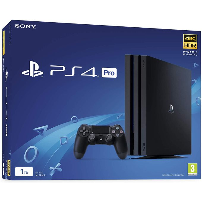 Sony Computer Entertainment Sony PlayStation 4 Pro 1TB Console - Black (PS4 Pro)