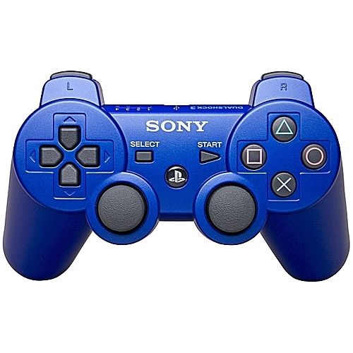 Sony Computer Entertainment Sony PS3 Wireless Pad Dual Shock Wireless Game Controller - BLUE ( OFFICIAL PS3 PAD)