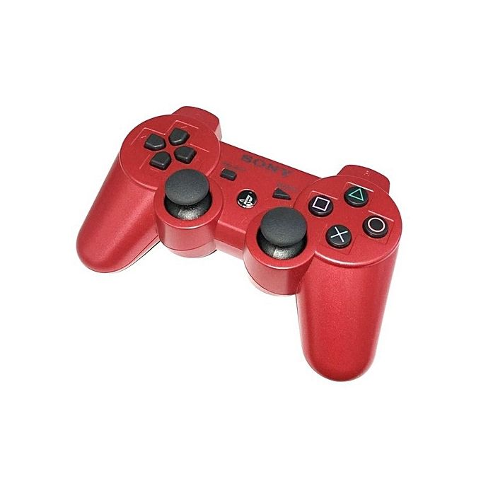 Sony Computer Entertainment Sony PS3 Wireless Pad Dual Shock Wireless Game Controller - RED ( OFFICIAL PS3 PAD)