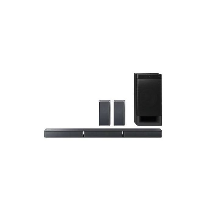Sony HT-RT3 5.1 600W Black - Home Cinema Systems (Dolby Digital, Dolby Dual Mono, LPCM, PCM-S-SOUNDBAR
