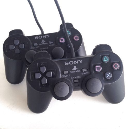 Sony PS2 Slim Console + 2 Controller And 15 Downloaded Games | Horezone