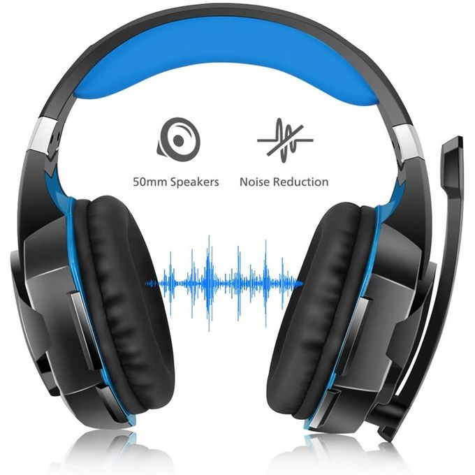 Surround Stereo Gaming Headphones With Noise Cancelling Mic | Horezone