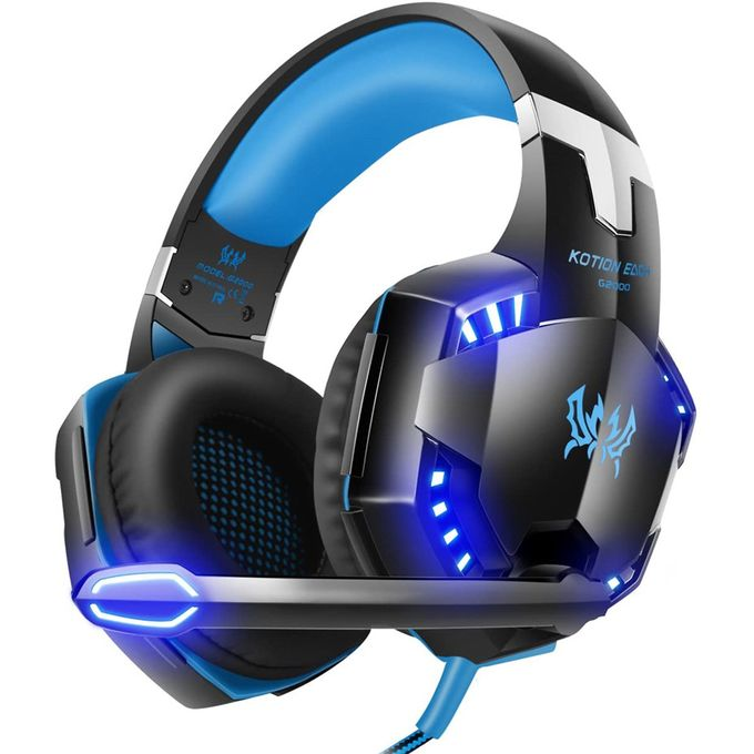 Surround Stereo Gaming Headphones With Noise Cancelling Mic