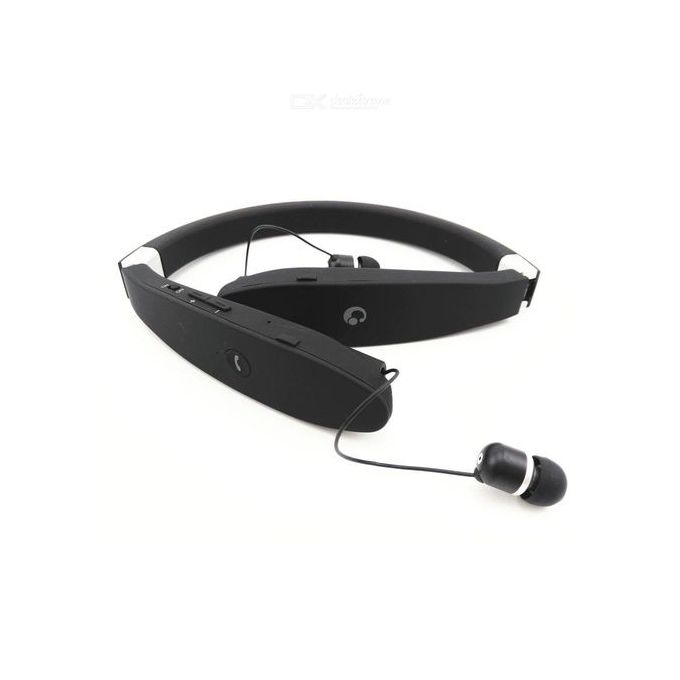 SX-991 Wireless Retractable Foldable Sweatproof Headphone Sports Stereo With CVC Noise Cancelling