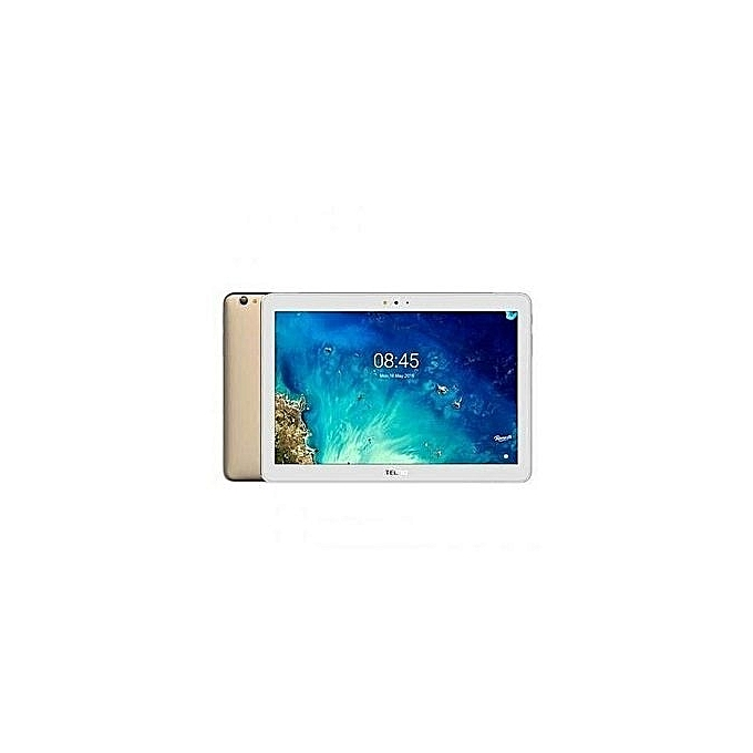 Tecno Droipad 10D 10.1-Inch 16GB ROM 4G LTE Plus Free Cover (Champagne Gold)