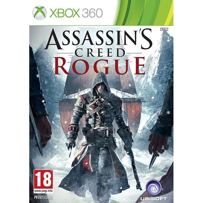 UBISOFT ASSASSIN'S CREED ROGUE XBOX 360.