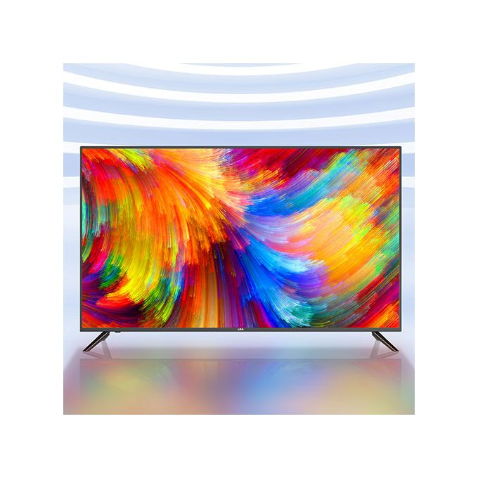 "UKA 43"" inch LED hairer themocool television  - 3 Year Warranty - Black"