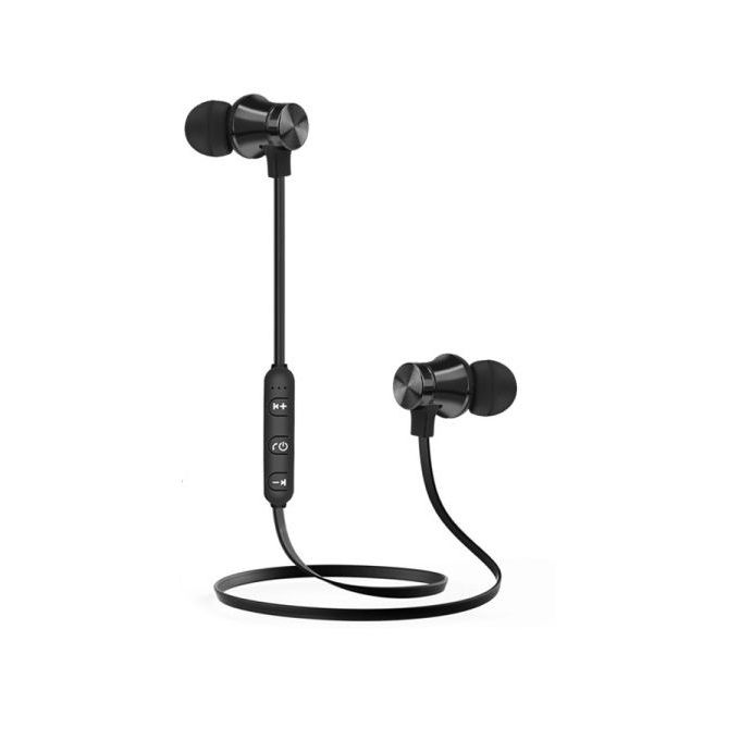 Wireless Magnetic Bluetooth Earphone, Headset Stereo