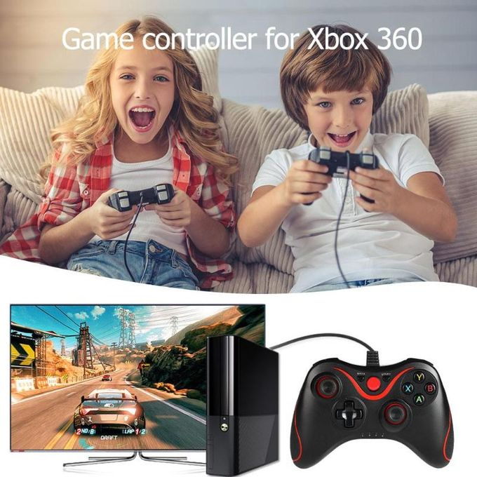 Xbox 360 VODOOL USB Wired Game Handle Controller Joypad Gamepad For Microsoft Xbox 360 For Slim PC Windows Game Pads Accessories DNSHOP | Horezone